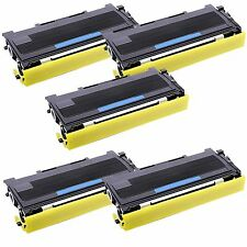 5 Pk TN-350 Toner For Brother TN350 MFC-7220 MFC-7225N MFC-7420 MFC-7820