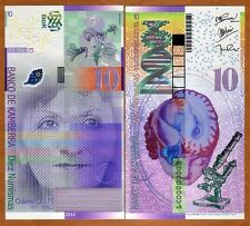 Kamberra, Kingdom, 10 Numismas, 2014, UNC > Odette Colte > Redesigned New Issue