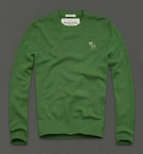 NWT Abercrombie&Fitch Mens Giant Mountain Cashmere Sweater Size-S 100%Authentic!