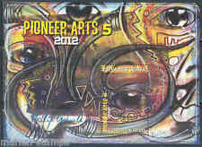 PAPUA NEW GUINEA 2012 PIONEER ARTS 5 SOUVENIR SHEET