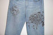 Baby Phat Stretch Jeans  ESTILO CORTE Juniors  Size 11 Regular Baby phat bling