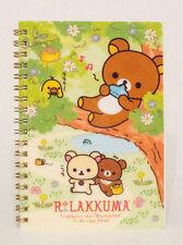 Authentic SAN-X Rilakkuma Korilakkuma to Atarashii Otomodachi B6 Notebook Kawaii