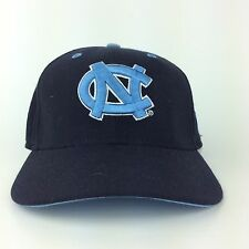 NCAA North Carolina Tar Heels New Era Black Hat Cap Fitted Size 7 Made in  USA 75295496fca3