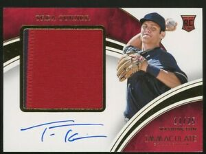 2016 Panini Immaculate TREA TURNER RC Auto Patch #11/25 NATIONALS DODGERS