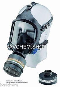 Masque de Protection Respiratoire Chlorgasmaske Complet C607 / Selecta Classe