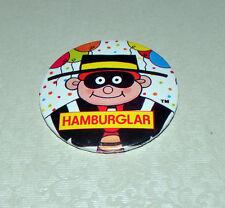 "Vintage McDonald's Hamburglar 2⅛"" Lapel Button Pin Badge - 1990's"