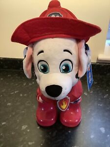 Build A Bear Paw Patrol Marshall With Outfit Sound Doesn't Work Good Condition
