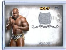 WWE Apollo Crews 2016 Topps Undisputed Event Worn Shirt Relic Card SN 141 of 175