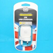 Go Travel Single port 2.4A UK USB Charger NEW!!