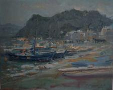Russian oil cardboard Impressionism Paris Landscape Demidov Alexander п-26