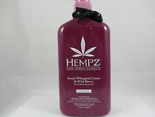 HEMPZ LIMITED EDITION SWEET WHIPPED CREME & WILD BERRY MOISTURIZER LOTION