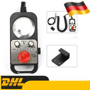 Universal CNC 4 Achsen Handsteuerung MPG Pendant Handrad&Not-Aus