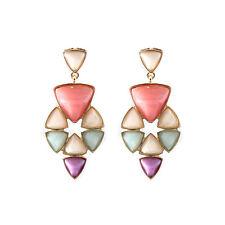 New Sumni Resin Stone Drop Dangle Earrings Gift FS Fashion Women Holiday Jewelry
