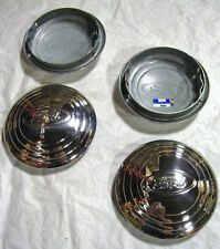 NEW Ford 4 cylinder Car Pickup Truck Ford Logo SS Hubcap Set 4 1932 1933 Ford