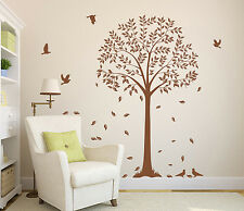 Large Wall Tree Branch with Birds Art Vinyl Wall Sticker Wall Decal HIGH QUALITY