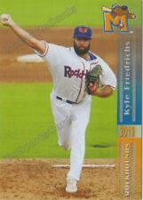 2019 Midland RockHounds Kyle Friedrichs RC Rookie Oakland Athletics