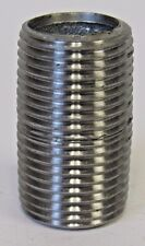 "New ¾"" X Close MNPT Pipe Nipple Galvanized Steel"