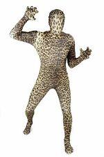 """Genuine Leopard Morphsuit Medium - 5""""-5""""4 Costume New"""