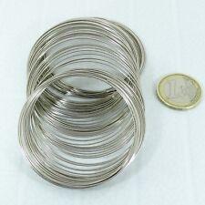 100 Vueltas Alambre Memoria Para Pulsera M710A 0,7mm x 6cm Memory Wire Bracele