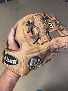 "Wilson A2000 DP15 GM 11.5"" Dustin Pedroia Game Spec Baseball Glove Pro-Stock RHT"