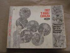 1987 Ford Thunderbird Cougar Electrical Vacuum Troubleshooting Manual EVTM OEM