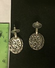 Pewter Toned Earrings