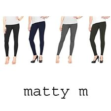 6a39cd7da173dc Matty M Full Length S Regular Size Leggings for Women | eBay