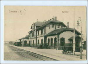 XX13741/ Schrimm i. Posen Bahnhof AK 1915
