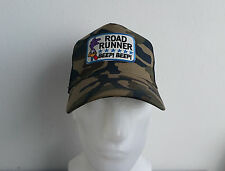 Trucker Cap,Camo,Road Runner,Beep Beep,Vintage,V8,Muscle Car,Old School