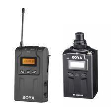 Boya BY-WM6R + BY-WXLR8 Kit Wireless Microphone Audio System Interview Recording