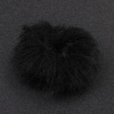 1pcs Fur Windscreen Windshield Wind Muff for Lapel Microphone Mic 3c White