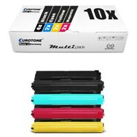 10x Eurotone Eco Toner Compatible Para Brother MFC-L-8900-CDW DCP-L-8410-CDN
