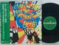 Elvis Costello And The Attractions ‎– Armed Forces LP 1979 Japan Radar w/ obi