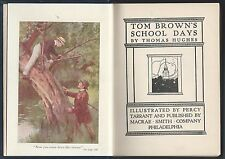 Tom brown's school days by thomas hughes washington square art percy tarrant