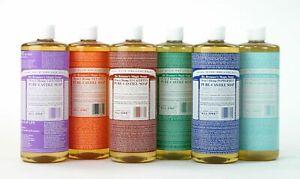 Dr Bronner's Organic Liquid Castile Soap Selection 237ml - Vegan