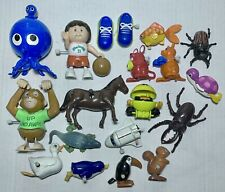 Vintage 1980s Tomy & Others Wind-Up Windup Friction Toys Lot Animals Bugs CPK