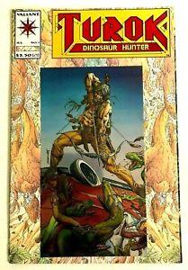 Turok Dinosaur Hunter 1 (Valiant 1993) Foil Cover embossed MINT CONDITION