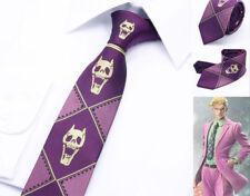JoJo's Bizarre Adventure KILLER QUEEN Heavens Door Kira Yoshikage Tie Cool Gift