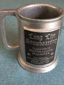 Transworld Snowboarding Mug (1995) THE CRUSADE '95