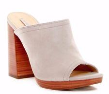 Frye Karissa Mule Gray Womens Shoes Size 10 M HEELS