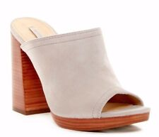 384fc579a6b1 Frye Karissa Mule Gray Womens Shoes Size 10 M HEELS