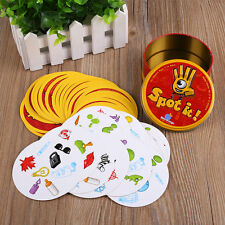 For Spot It Find It Funny Card Game For Children Family Gathering Party