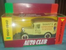 Tesco Voiture Club 80's LLEDO Miniature Vintage Model Chevy Van Sharps Kreme Toffee