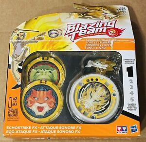 Hasbro Blazing Team Echostrike FX Dragon Yo-Yo Level 1 White Rare Vintage 90s