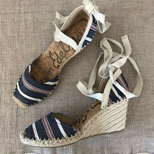 55838dd1fd2 Sam Edelman Espadrilles Lace Up Sandals for Women for sale   eBay