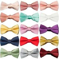Pre Tied Boys Bow Tie Age 4-7 Kids Childrens Bow Dickie Bow Childrens Bow tie