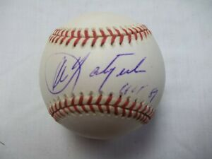 "Carl Yastrzemski Signed ""HOF 89"" Official Major League Baseball"