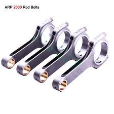 Connecting Rod Rods for Nissan L16 Datsun 510 Bluebird Conrods ARP Bolts Par