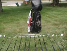 callaway golf clubs and bag