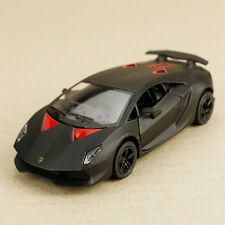 2011 Matt Black Lamborghini Sesto Elemento 1:38 DieCast Doors Open Pull Back